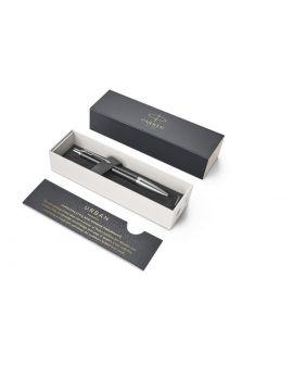 Długopis (NIEBIESKI) URBAN PREMIUM EBONY METAL CT - 10