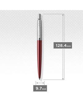 1 Długopis JOTTER KENSINGTON RED CT (wkład niebieski)  1 Długopis ŻELOWY JOTTER ROYAL BLUE CT - 10
