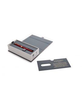 Pióro wieczne SONNET RED LACQUER GT (F, stalówka ze stali) - 3