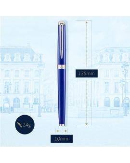 Pióro wieczne (M) HEMISPHERE BRIGHT BLUE - 5