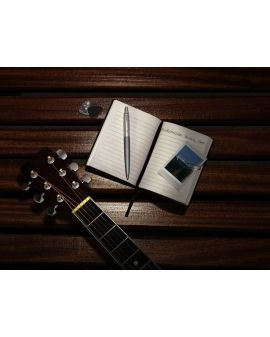 Długopis (NIEBIESKI) JOTTER XL ALEXANDRA MATTE GREY - 4