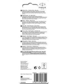 Długopis VECTOR STAINLESS STEEL CT (NIEBIESKI) - 4