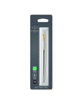 Długopis ŻELOWY (CZARNY) JOTTER STAINLESS STEEL GT - 2