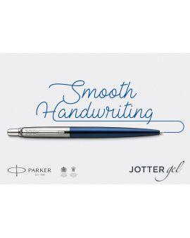 Długopis ŻELOWY (CZARNY) JOTTER STAINLESS STEEL GT - 8