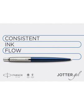 Długopis ŻELOWY (CZARNY) JOTTER STAINLESS STEEL GT - 10
