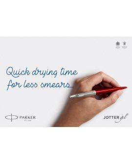 Długopis ŻELOWY (CZARNY) JOTTER STAINLESS STEEL GT - 7