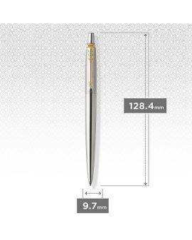 Długopis ŻELOWY (CZARNY) JOTTER STAINLESS STEEL GT - 9