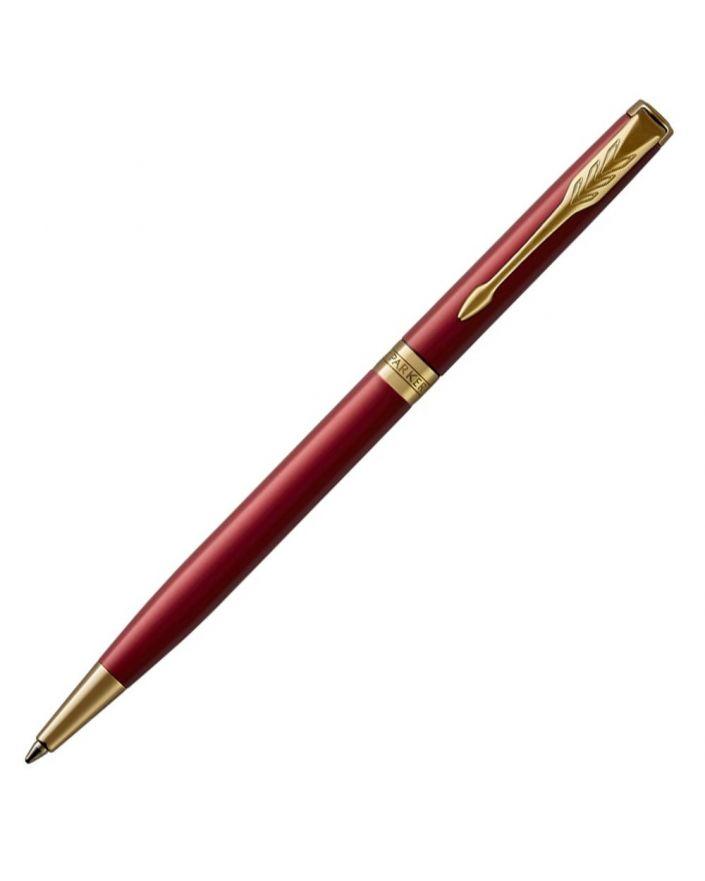 Długopis SLIM SONNET RED LACQUER GT - 1