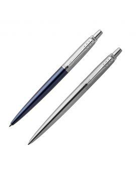 1 Długopis JOTTER ROYAL BLUE CT (wkład niebieski) 1 Długopis ŻELOWY STAINLESS STEEL CT (wkład czarny) - 1