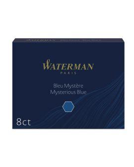 Naboje atramentowe Waterman Długie Niebiesko-Czarne 8 szt. - 1 - 3034325200798 -  - S0110910