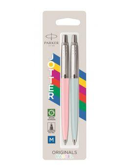 Zestaw Długopis Parker Jotter Originals Pastel Baby Blue & Pink - Edycja Specjalna - 1 - 3026981218316 -  - 2121831