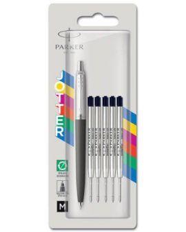 Długopis automatyczny Parker Jotter czarny Wkłady 2152193 - 1 - 3026981521935 -  - 2152193